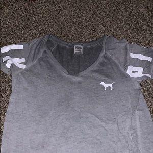 Gray PINK shirt